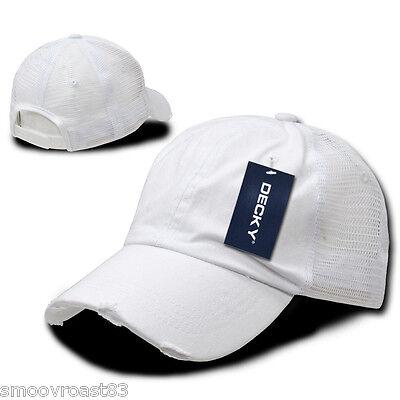 Olive Green Vintage Washed Distressed Mesh Trucker Baseball Cap Caps Hat Snap