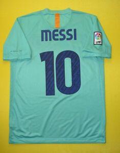 Messi-Barcelona-Jersey-2010-2011-Away-M-Shirt-Football-Mens-Camiseta-Nike-ig93