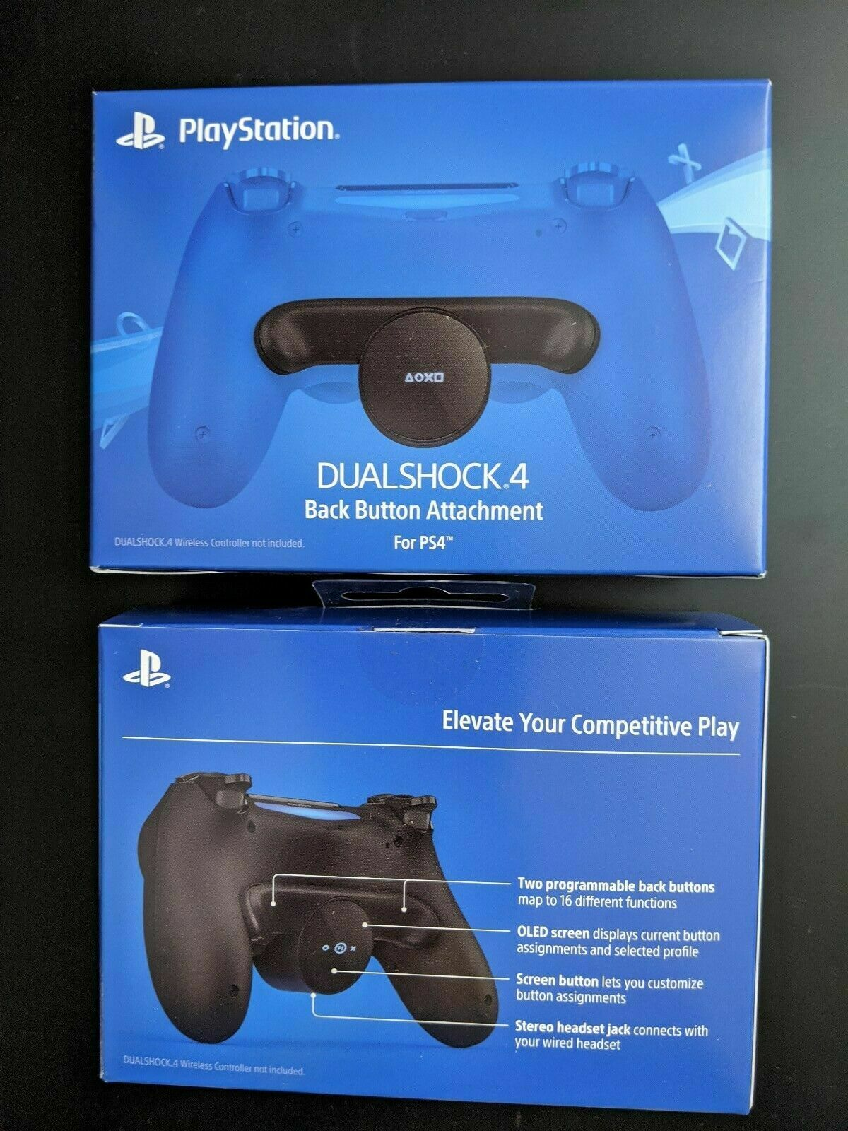 (2 PACK) Sony DualShock 4 Back Button Attachment Playstation PS4 *READY TO SHIP*