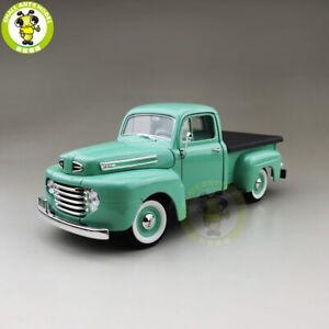 1-18-1948-Ford-F-1-F1-Pick-up-Truck-Road-Signature-Diecast-Model-CAR-Truck-Toys