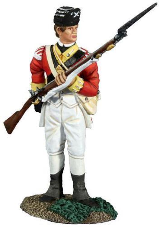 BRITAINS AMERICAN REVOLUTIONARY WAR 18040 BRITISH 10TH FOOT RELOADING MIB