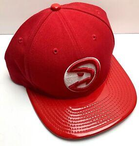 Atlanta-Hawks-New-Era-NBA-2-Tone-9Fifty-Snapback-Cap-Hat-Flat-Bill-Shinny-Rare