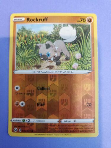 Pokemon Champions Path Reverse Holo Rockruff 029/073