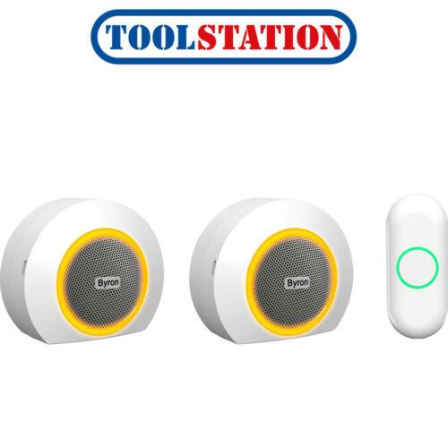 Byron Wireless Doorbell Set DBY-23524UK