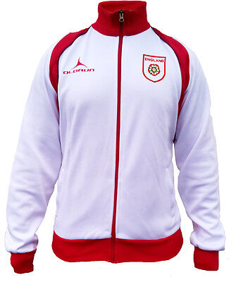 Olorun Wales Football Supporters Retro Jacket Red//Black Size S-3XL
