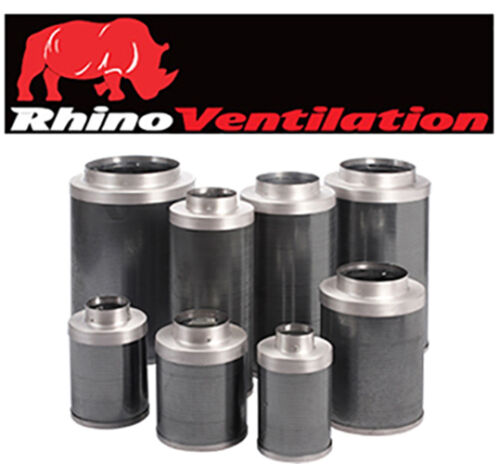 """Rhino Pro Carbon Filter 10 /"""" inch  250mm 1000mm for wooden box fan"""