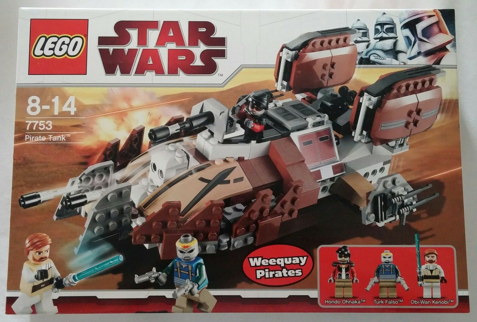 LEGO ® Star Wars ™ 7753 PIRATE TANK NUOVO & OVP NEW SEALED