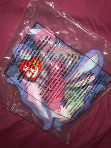 McDonald-s-Happy-Meal-Toy-TY-Teanie-Beanie-Babies-Flitter-The-Butterfly-2000-New