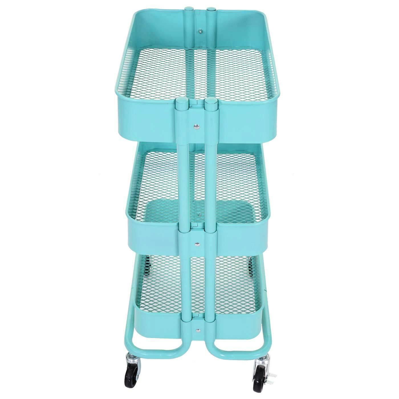 Trolley MCW-C64, Kitchen Trolley Bar Tea Cart Trolley 79x44x37cm MINT