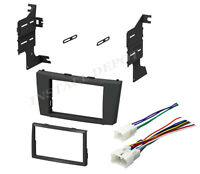 ★ 2007-2012 Toyota Camry Double Din Car Stereo Radio Dash Kit & Wiring Harness