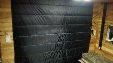 ice castle RV toy hauler insulated door