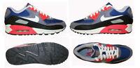 Nike Women's Air Max 90  Royal Blue Sail Grey Running Shoes Sz. 5 NEW 325213 406