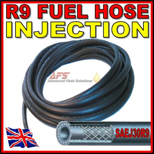 7.6mm 5//16 I.D 8mm Rubber Fuel Injection Hose Petrol Pipe SAEJ30R9 leaded Gas