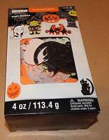 Halloween Foam Stickers Creatology 4oz Value Pack 2 X 1 1/2 Glitter/bat 117t