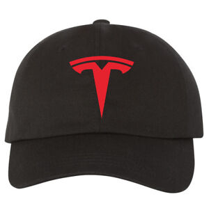 Image is loading ADJUSTABLE-cap-TESLA-Motor-HAT-FREE-SHIPPING-Embroidery- 5a9bd1fce7d