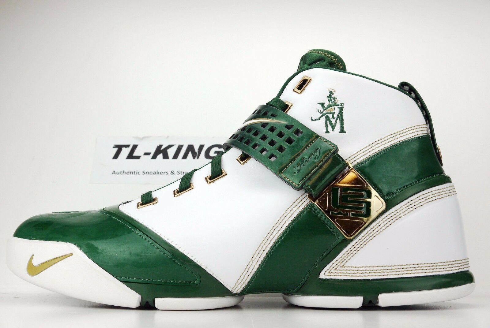 Nike Zoom Lebron 5 SVSM High School Home Sample PE Player Exclusive Promo 16 The latest discount shoes for men and women