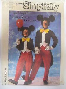 Patrones de costura simplicidad Disfraz Disney Niño
