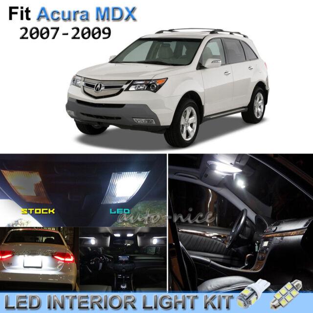 14pcs Bright White Interior LED Lights Package Kit For