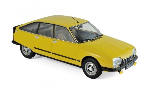 Norev Citroën GS X3 1979 - Mimosa yellow 1 18 - 181624