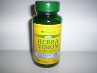 Herbavision W/ Lutein Heathy Eyes Vision Eyesight Health Supplement 120 Softgels