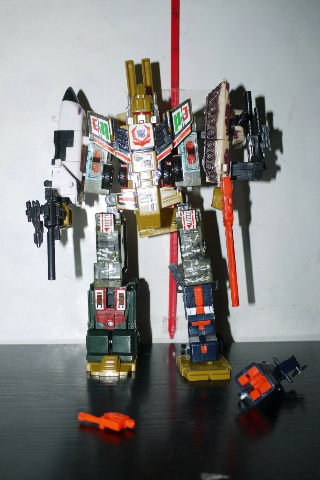 Transformers RUINATION KO COMBINER FIGURE DAMAGED