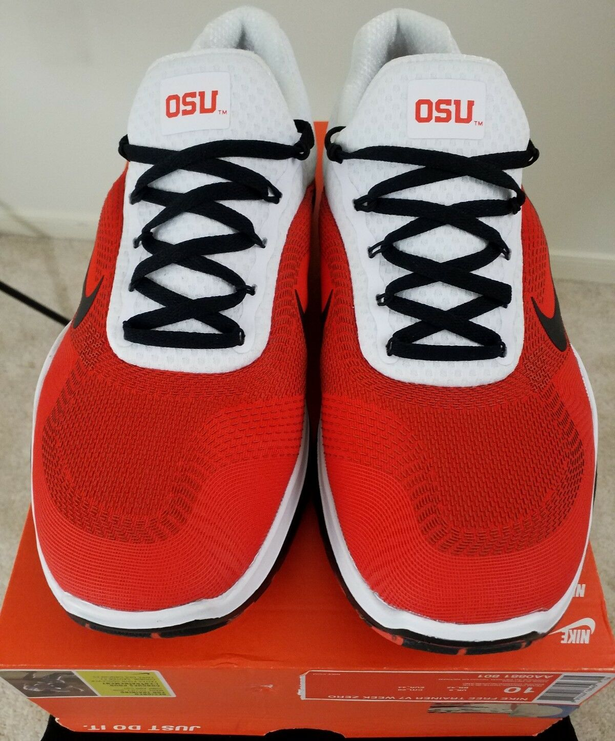 4740e8a49999 low price nike x fsu free trainer v7 week zero shoes available now 62a6f  5b3c1  usa nike free trainer v7 week zero sz 10 mens oregon state beavers  aa0881 ...