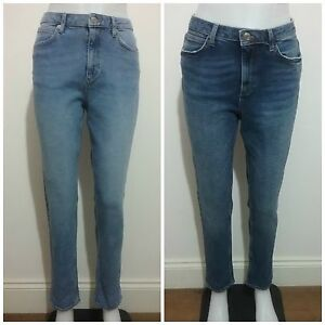 Ladies-Ex-M-amp-S-Relaxed-DENIM-Stretch-JEANS-Light-amp-Dark-BLUE-10-18-BNWOT-RRP-25