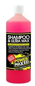 Power-Maxed-1-L-Voiture-Shampoing-amp-Ultra-Cire-039-Fantastique-Stuff-039-Csuwrtu