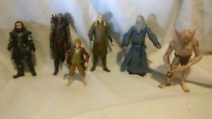 Senor-De-Los-Anillos-LOTR-Hobbit-Gandalf-grannah-Paquete-De-Figuras-De-Accion