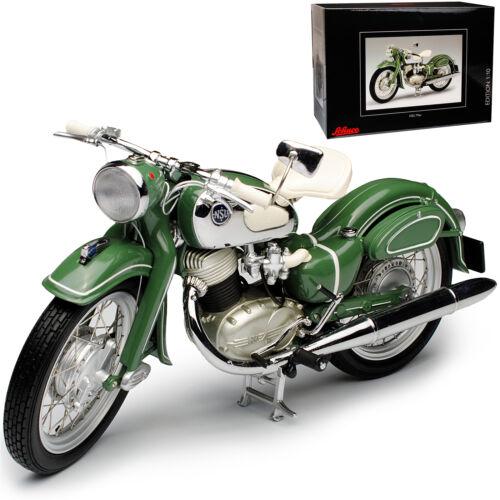 NSU Max solo motos de modelo SCHUCO de verde 1//10 con o sin individiuellem Wun...