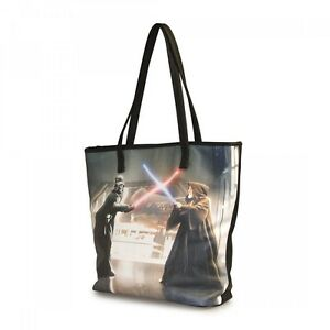 Star-Wars-Darth-Vader-amp-Obi-Wan-Photo-Real-Tote-NEW-Carrier-Loungefly