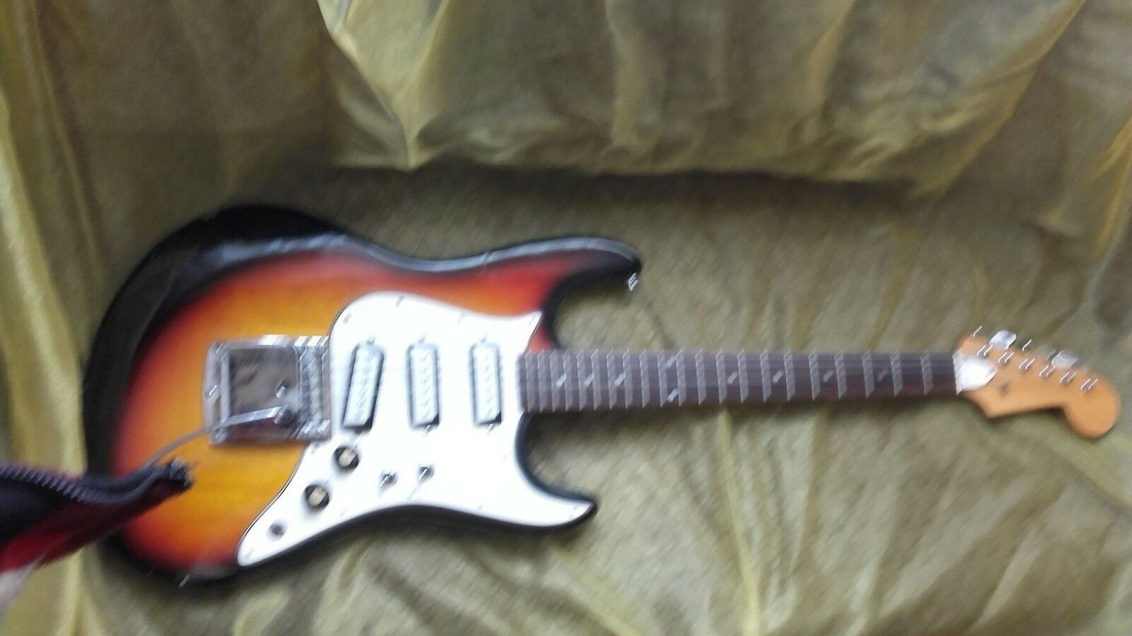 Aria  Strat 1803 sunburst 70er Cobain style