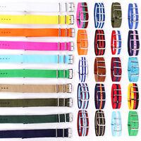 20mm Premium Quality Nylon Wrist Watch Band Straps Fits J. Crew Timex Weekender