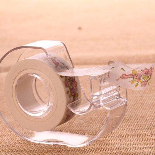 10m Self DIY Cartoon Washi Sticker Decor Paper Masking  Adhesive Tape Crafts New