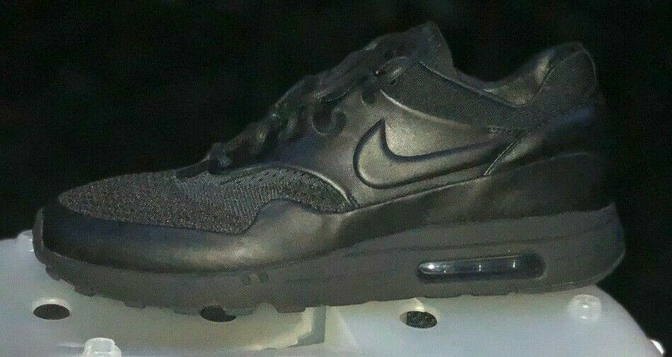 WITH RECEIPT Nike Air Max 1 Flyknit Royal Black Anthracite 923005-001