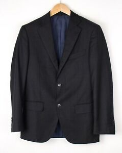 Suitsupply Herren Napoli Reine Wolle Formelle Blazer Größe Eu:46 - UK:3 6 BAZ53