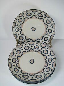 Thomas-O-039-Brien-Vintage-Modern-Set-Of-4-Porcelain-Salad-Plates-8-1-4-034