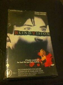 Blind-Vision-VHS-no-DVD-ex-rental-video-tape-Robert-Vaughn-Louise-Fletcher-HTF