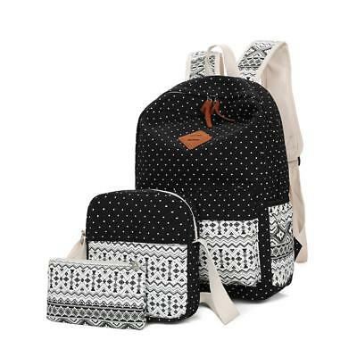 Women Backpacks High Quality Canvas For Ladies School Bags Fashion Ethnic Style