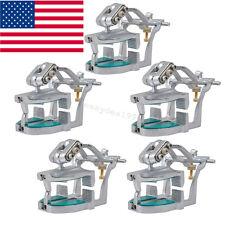 5x Adjustable Magnetic Articulator Dental Lab Equipment Dentist Full Teeth model
