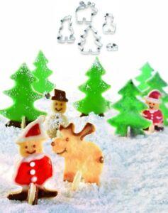 Weihnachtskekse Oetker.Details Zu Dr Oetker Keksausstecher Weihnachtskekse Stehkeksausstecher Ausstechform 1498