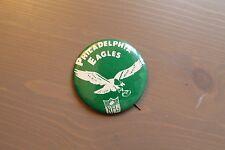 large vintage 1960s-70s Phildelphia EAGLES pinback BUTTON with NFL logo rare!