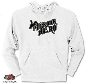 Heroes Parcour ᄄᄂ avec S Hero capuche Parkour capuche xxl Sweat XiPkZu