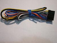 Original Alpine Cde-164bt Wire Harness Oe1