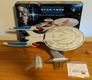 Playmates-STAR-TREK-First-Contact-USS-ENTERPRISE-E-NCC-1701-E-w-Box-stand