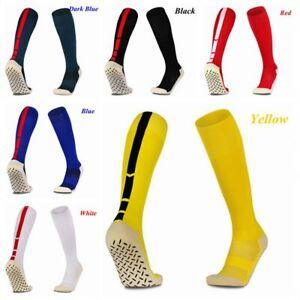 Fashion-Outdoor-Soccer-Breathable-Knee-High-Cotton-Football-Socks-Anti-Slip