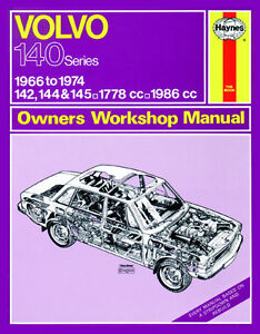 0129 Haynes Volvo 142- 144 et 145 (1966 - 1974) jusqu'à N workshop manual-afficher le titre d`origine vcNmbIfh-08133324-609101136