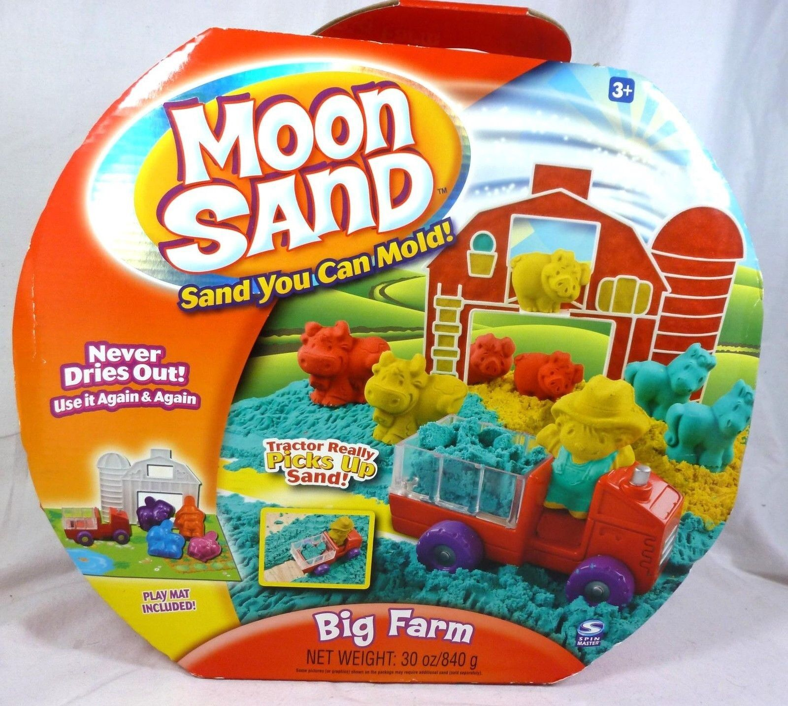 Moon Sand - Big Farm - NIB, Ages 3+