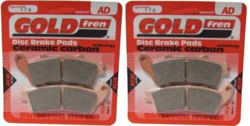 Honda GL 1800 AA Gold Wing CC - Brake Disc Pads Front Goldfren ABS 2010