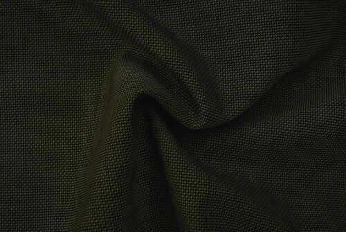 PURE WOOL DARK BROWN PIN HEAD WEAVE LUXURY FINE TAILORING MADE IN ITALY E144